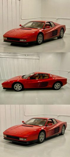 1990 Ferrari Testarossa Car Goals, Best Luxury Cars, Leather Interior, Vroom Vroom, Amazing Cars, Tan Leather, Cars For Sale, Dream Cars, Italia