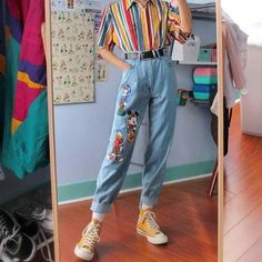 Image about cute in outfit inspiration by Hayley Elkins - Image found by Hayley Elkins. Find (and save!) Your own images and videos in We Heart It - Indie Outfits, Teen Fashion Outfits, Cute Casual Outfits, Retro Outfits, Vintage Outfits, Artsy Outfits, Grunge Outfits, Womens Fashion, Look 80s