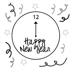 Happy New Year 2016 Clip Art Images