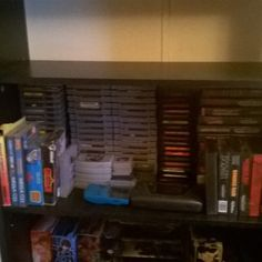 twostepstotheright: My retro game collection. Alot smaller then it ever been but still bad ass! #gaming #retro #Nintendo #Sega #genesis #turbografix16 #segacd #gameboy #nes #snes #n64 #gamegear #mastersystem #console #nerd #gamer #videogames #gamegear #microobbit