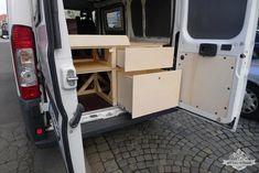 Ausbau Camper Part 3: Küche und Schubladen - Vertikale-Bewegung