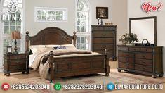 Harga Kamar Set Minimalis Kayu Jati Natural Design Interior Inspiring MMJ-0900