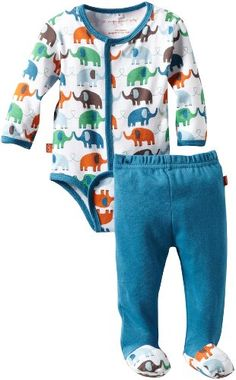 Amazon.com: Magnificent Baby Baby-Boys Newborn Elephant Long Sleeve Burrito And Pant Set: Clothing  http://www.amazon.com/gp/product/B008EHNUI0?tag=vglnk-c324-20