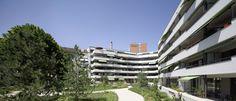 New housing development Riehenring/Horburgstrasse - Burckhardt+Partner. Basel