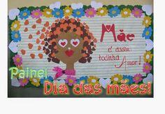 Aprender Brincando: Painel para o Dia das mães!: