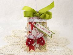 Merry and Bright by Just 4 FUN! - Cards and Paper Crafts at Splitcoaststampers