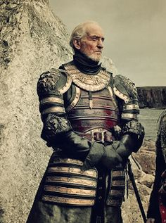Charles Dance as Lord Tywin Lannister. Game of Thrones ; Costumes Game Of Thrones, Game Of Thrones Tv, Game Of Thrones Houses, Winter Is Here, Winter Is Coming, Carl The Walking Dead, Cersei Lannister, Jaime Lannister, Charles Dance