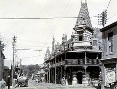 Main Road, Wynberg 1900 - My hometown. Old Pictures, Old Photos, Vintage Photos, South African Artists, Most Beautiful Cities, African History, Cape Town, The Great Outdoors, West Coast