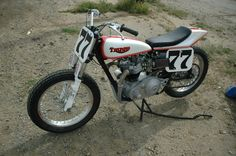 triumph t100 flat tracker | 1965 TRIUMPH FLAT TRACKER