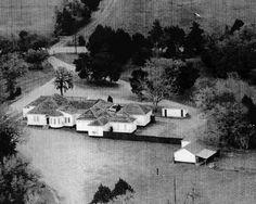 La Grange,TX.- Chicken Ranch before it was Closed in 1973