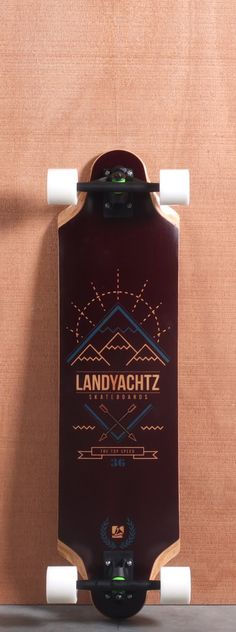 "Landyachtz 36.5"" Top Speed Longboard Board Complete"