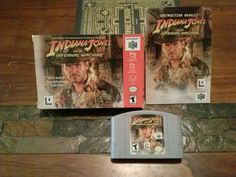 #nintendo 64 #n64 Indiana Jones And The Infernal Machine Cib Complete In Box Rare! from $124.99