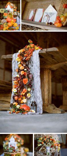 Heiraten im Herbst: Inspiration von You & Me Photography | Dein Hochzeitsblog | Der Hochzeitsblog für moderne und kreative Hochzeiten