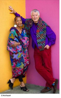 Легендарный мастер пэчворка и не только. Этот мужчина, которому уже за 70, не только шьет, но и вяжет, рисует, вышивает, плетет гобелены, занимается мозаикой, интерьерами и ландшафтом, он с легкостью осваивает любое ремесло, внося в него свой взгляд на прекрасное. Уроженец Сан-Франциско сейчас живет в Лондоне, работал со всемирно известными компаниями и домами моды, его работы коллекционируют…