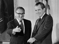 Nixon and Kissinger.