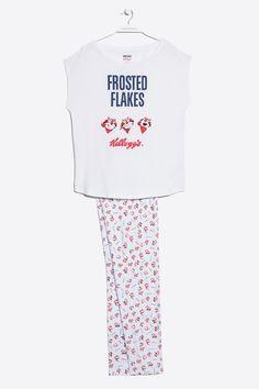 women'secret | Productos | Pijama largo estampado de Kellogg´s en algodón