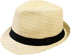 Our straw fedora is great to stay cool & protected in during the hot summer! Fedora includes light lining inside that helps absorb your sweat, keeping you nice and fresh! It's made of 100% paper straw for lightness and comes in 2 sizes: S/M and L/XL. It also features a black hat band as...