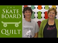 skateboard quilt tutorial by Missouri star