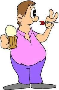Darts n Beer sooooooo Fun