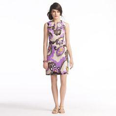 kate spade   paisley keiran dress #purple