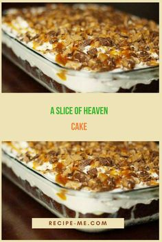It doesn't have to be hard or complicated to make a nice delicious cake. Heaven Cake Recipe, Easy Desserts, Delicious Desserts, Delish Cakes, Cake Recipes, Dessert Recipes, Different Cakes, Bread Cake, Moist Cakes