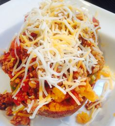 Sloppy Joes stuffed sweet potatoes are a 21 Day Fix that the whole family will love to eat. Confession #29 – I think I'm pretty cool when I get my meatatarian husband to declare zucchini pizzas as his favorite food and cauliflower casserole as damn delicious. So I may have gotten a little cocky thinking...