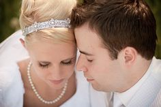 Matt Shumate Photography at the LDS Seattle Temple wedding bride and groom close up portrait