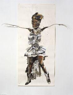 The Diaspora strikes back en hoe het verder ging Nalini Malani, Mary Blair, Alexander Calder, African Trade Beads, Marc Chagall, Henri Matisse, Tim Burton, Vincent Van Gogh, Charlotte