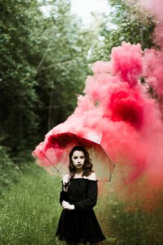 Had fun with some smoke bombs ❤️ #smokebomb #photography #artisticphotography #gothic #aesthetic