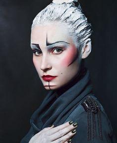 37. Stenciled - Beauty or Art? Stunning Avant Garde Makeup ... → …