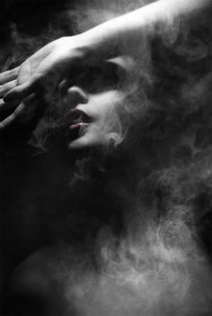Dramatically Mysterious Smoky Portraits by Federico Bebber