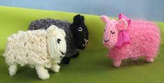 que lindas essas ovelhinhas..