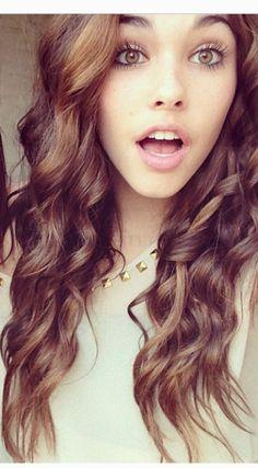 I love Madison Beer's hair <3