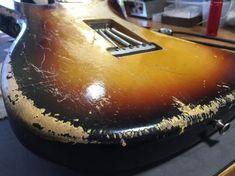 1962 Fender Stratocaster ..... That I Built With L@VE!