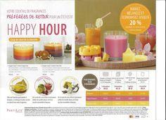 Les Fragrances Happy Hour sont de retour en Mars seulement www. Cocktail, Happy Hour, Mars, Fruit, Candle, March, Slurpee, Shake, Mars Symbol