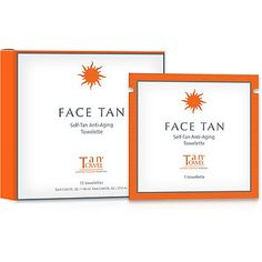 Tan Towel Face Tan Self-Tan Anti-Aging Towelette  $30