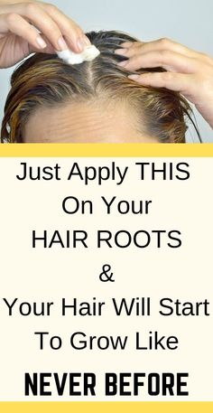 Just Apply This On Your Hair, And They Will Grow Nonstop - Healthy Solutions 24