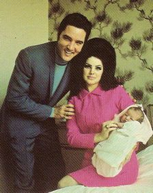 Elvis in February … Important February dates during Elvis Presley's life  February 1, 1968 —Elvis became a father when Priscilla gave birth to Lisa Marie at Baptist Hospital in Memphis.