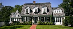 Patrick Ahearn, Architect.  Classic New England style home, featured on www.SummerlandHomesandGardens.blogspot.com