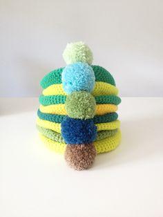 basics Crochet Necklace, Beanie, Gallery, Hats, Jewelry, Fashion, Moda, Jewlery, Roof Rack