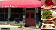 Lunch at the Girl and the Fig restaurant in Sonoma - via It's Travel O'Clock