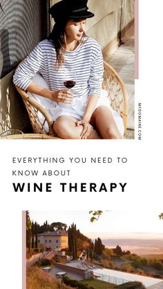 How to use wine therapy