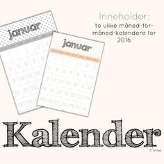 Browse educational resources created by frk linn in the official Teachers Pay Teachers store. Words, Calendars 2016