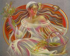 Elen Zelin /Элен Зелин   Abstract Figurative painter   Tutt'Art@   Pittura * Scultura * Poesia * Musica  