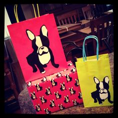 Boston Terrier Wrapping Paper!   Remember Alexis!! & Adryanna!!