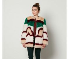 Statement Jackets For Winter: Scotch&Soda Fake Fur Coat, $355