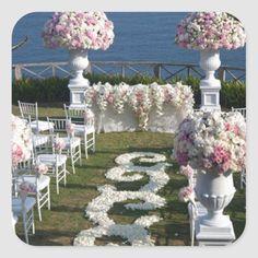 Wedding Aisle Outdoor, Aisle Runner Wedding, Outside Wedding, Aisle Runners, Pool Wedding, Diy Wedding, Wedding Favors, Wedding Reception, Wedding Isle Decorations