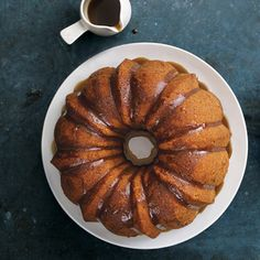 Apple Bundt Cake with Brown-Sugar Glaze | MyRecipes.com