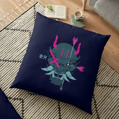 Omega Level' Floor Pillow by Bad Box Line Illustration, Canvas Prints, Art Prints, Line Drawing, Female Bodies, Floor Pillows, Omega, Chiffon Tops, Classic T Shirts