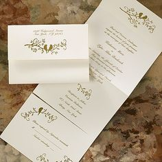 up to 35% off spring wedding invitations with sweet birds, lovely florals, fluttering butterflies thru 4/5